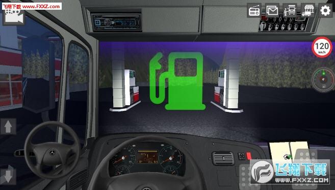 GBD奔驰卡车模拟器安卓版6.18截图1