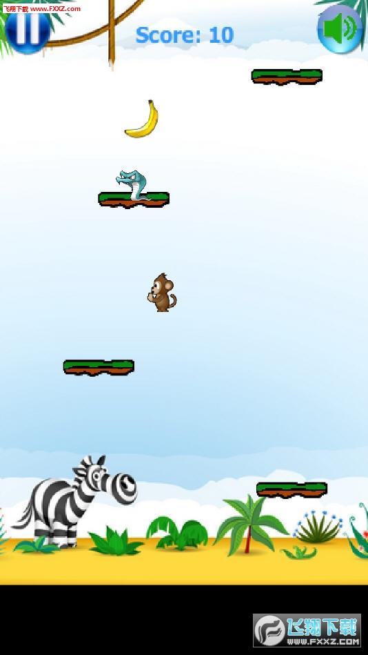 杰克跳跳猴手游1.04截图2
