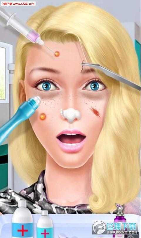女孩爱化妆