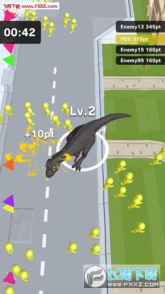 Dinosaur Rampage中文版v3.2截图2
