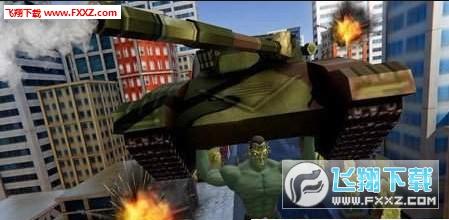 城市英雄战争机器人怪兽大战1.0截图1