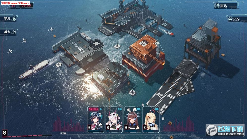 海岸线战舰养成计划测试服v1.0.9截图2