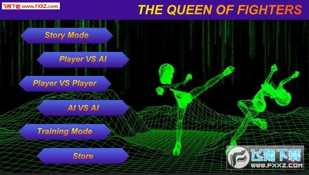 格斗女皇qof高清威力加强版v1.2截图0