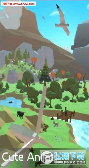 小小绿洲构建梦想中的动物手游安卓版1.0.0.1截图0