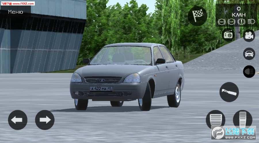 俄罗斯汽车模拟器手机版v0.1截图0