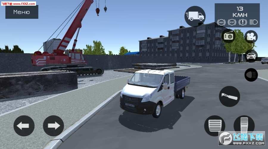 俄罗斯汽车模拟器手机版v0.1截图1