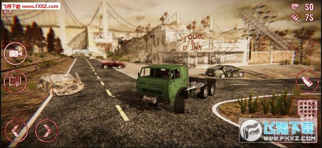 僵尸启示录卡车模拟器手游中文版1.0截图0