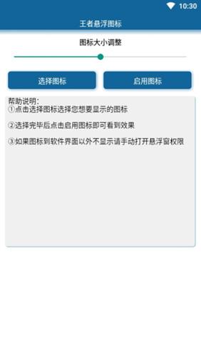 王者悬浮图标appv1.0 安卓版截图2