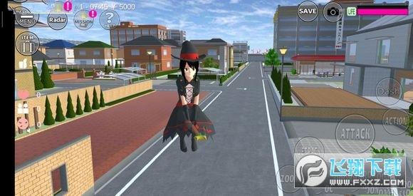 樱花校园模拟器自行车版无限金币v1.037.05内购破解版截图2
