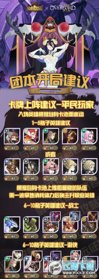劍與遠征S3團本攻略陣容 劍與遠征S3團隊遠征一圖流全英雄攻略
