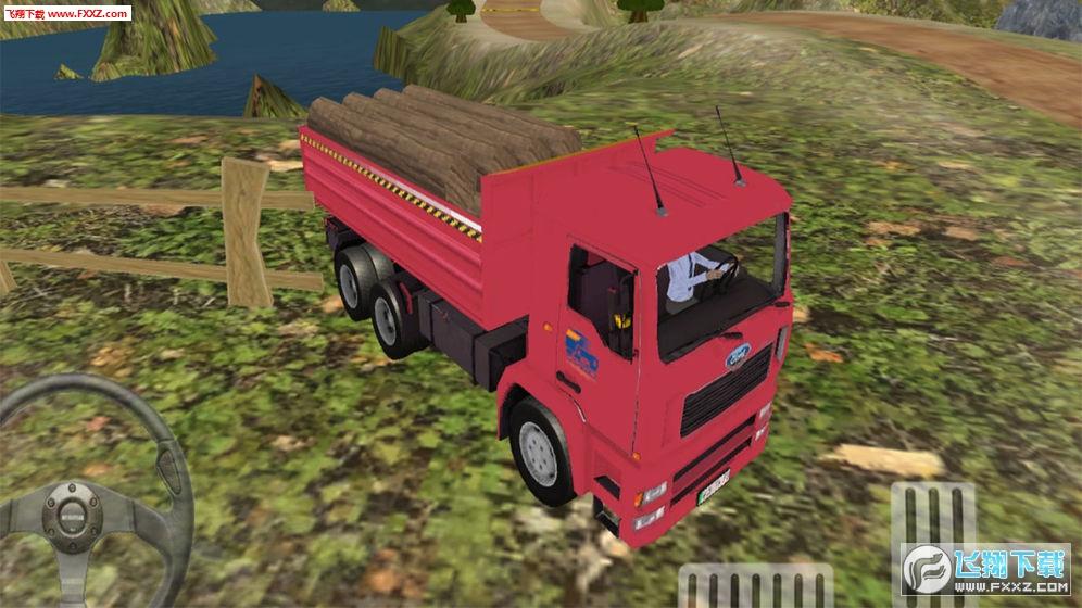卡车野外运输模拟手机版v1.0截图1