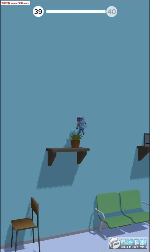 机器人翻转手游趣味版1.0截图1