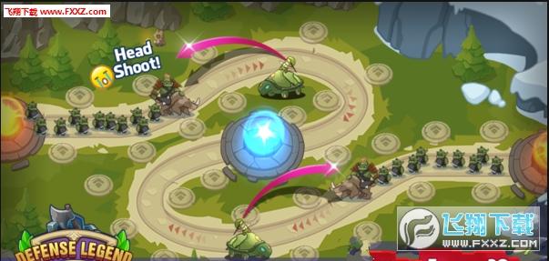 防御传奇神话塔防手机安卓版1.0.2截图1
