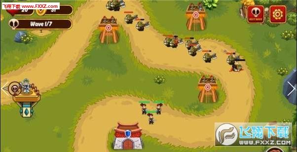 勇士王国手游战争版1.1.4截图0
