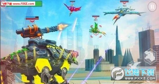 怪物世界恐龙战争3D手机版1.1截图2