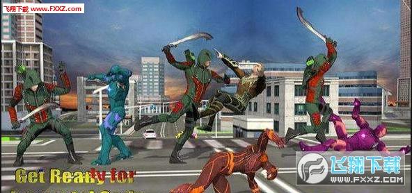 绿色箭头忍者刺客官方最新版1.1截图2