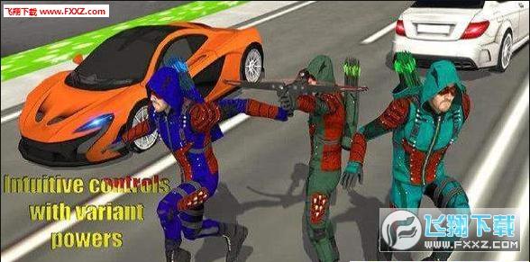 绿色箭头忍者刺客官方最新版1.1截图0