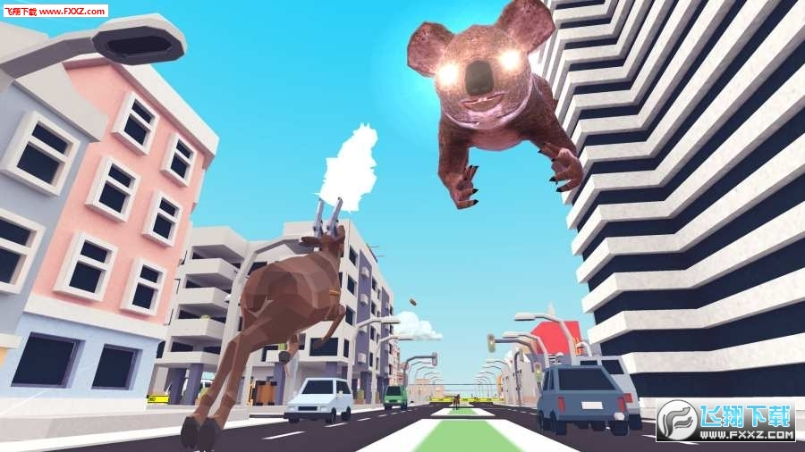 抖音疯狂鹿模拟器破解版1.0截图1