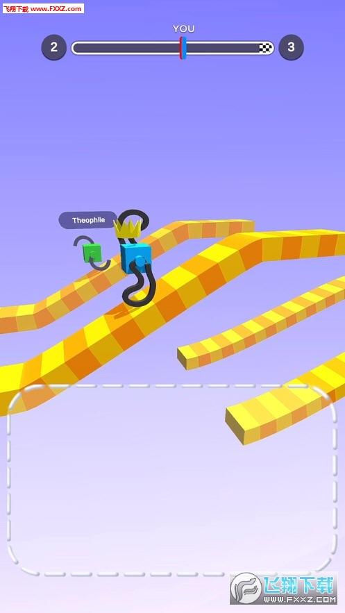 抖音给方块画脚游戏v1.4.0截图0