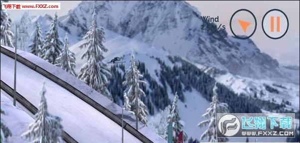 滑雪跳跃竞速版0.2.3截图0