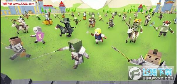 最后的骑士战堤策略官方版1.0截图1