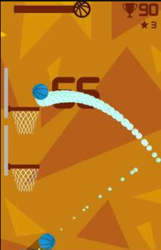 反向投篮手游休闲版1.0截图2
