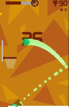 反向投篮手游休闲版1.0截图1