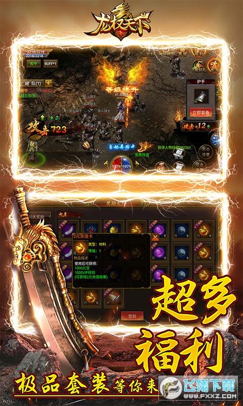 龙权天下送10亿金币1.0.0畅玩版截图2