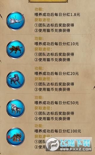 玄猫世界养神兽分红游戏1.0正式版截图2