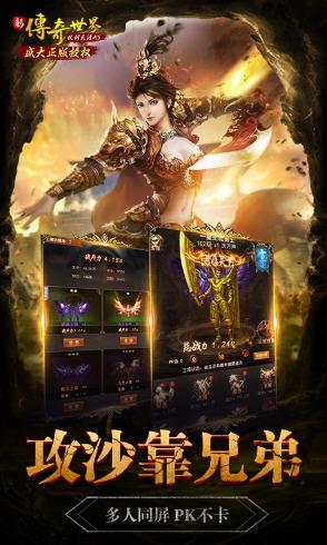传奇世界之仗剑天涯至尊特权版1.0.0满V版截图0