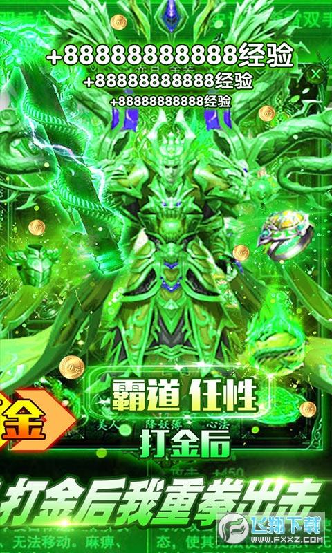 魔龙诀全屏爆宝1.0打金版截图1