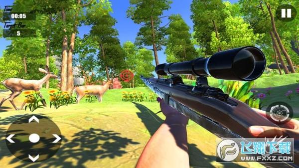 狙击普通的鹿模拟器游戏