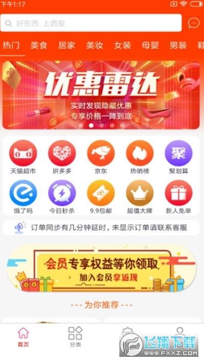 西皮集全网优惠券app