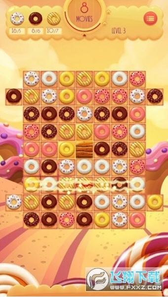 甜甜圈消消乐领红包游戏v1.0最新版截图0