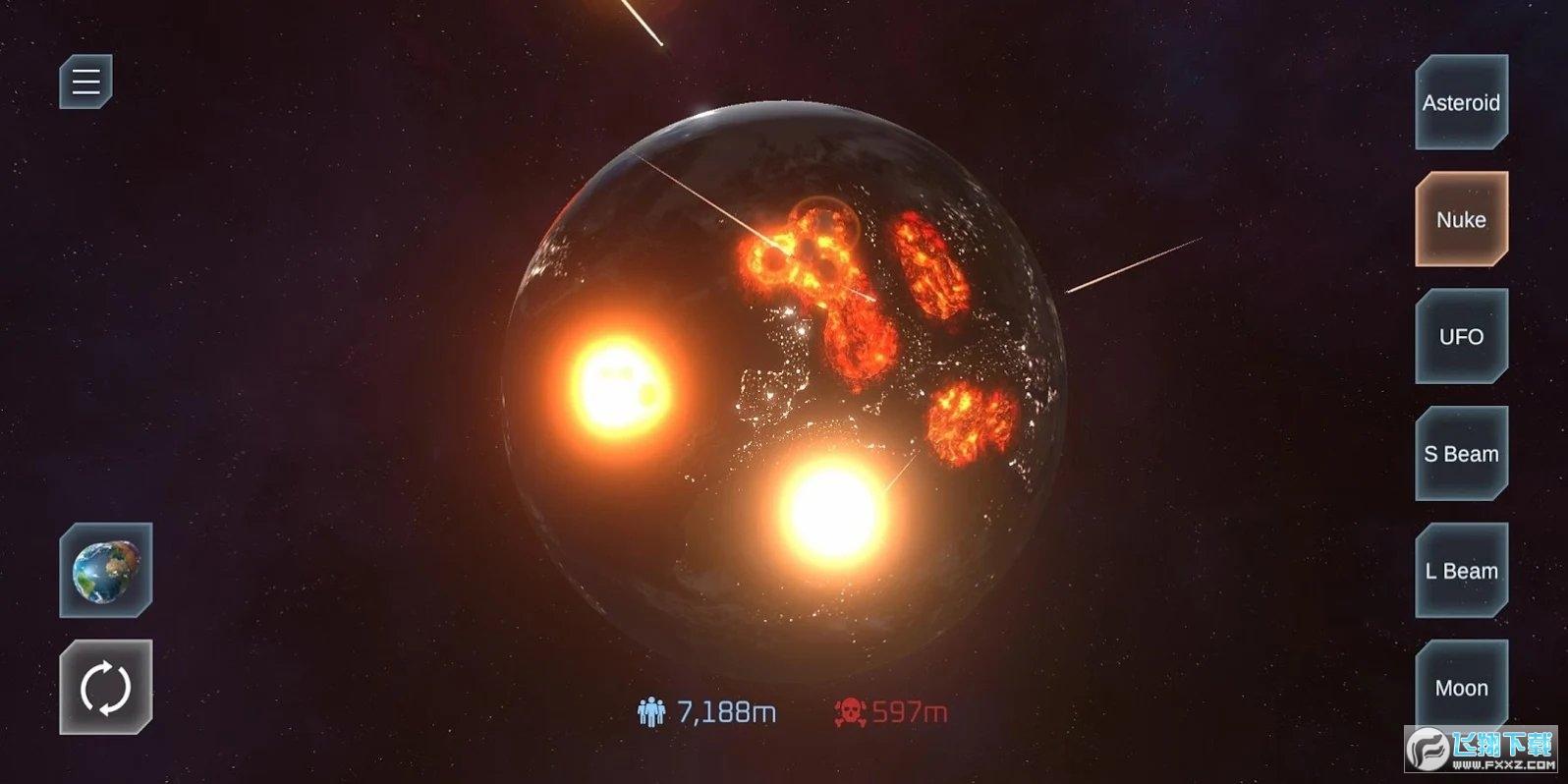 毁灭星球模拟器最新破解版v1.1.0安卓版截图2