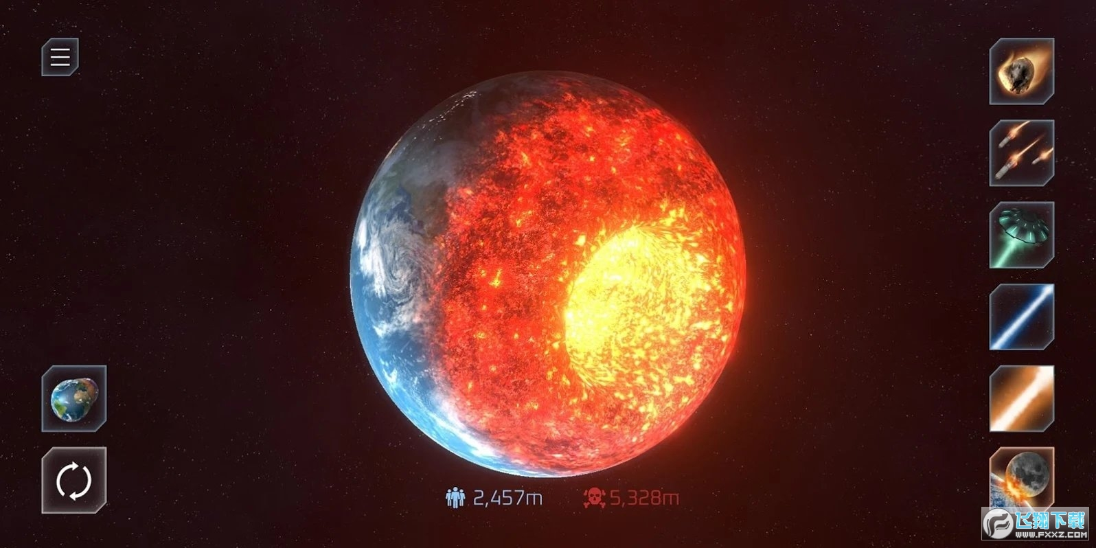 星球毁灭模拟器汉化版v1.4.1最新版截图0