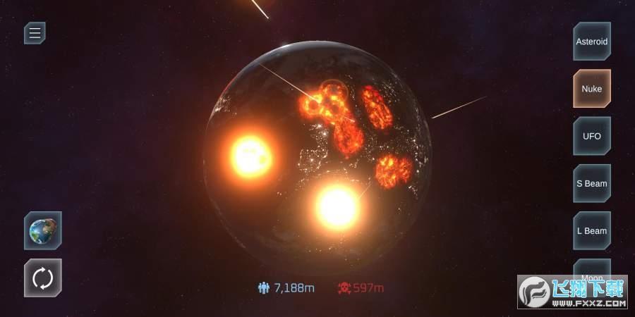 星球毁灭模拟器手机破解版v1.10内购破解版截图0