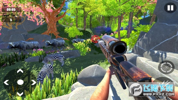 狙击普通的鹿模拟器游戏1.0安卓版截图0