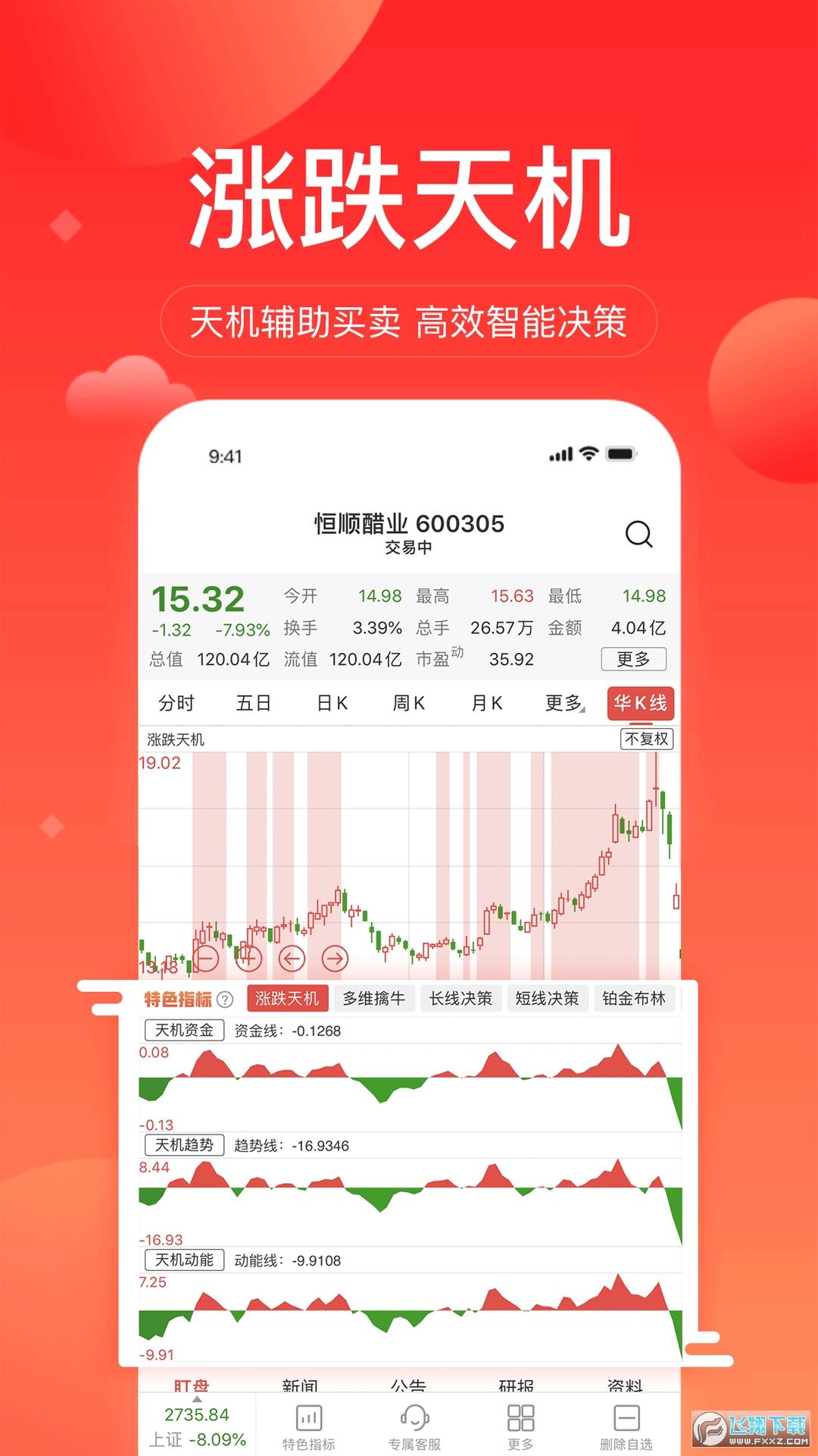 华讯股票app官方版v1.4.05安卓版截图0