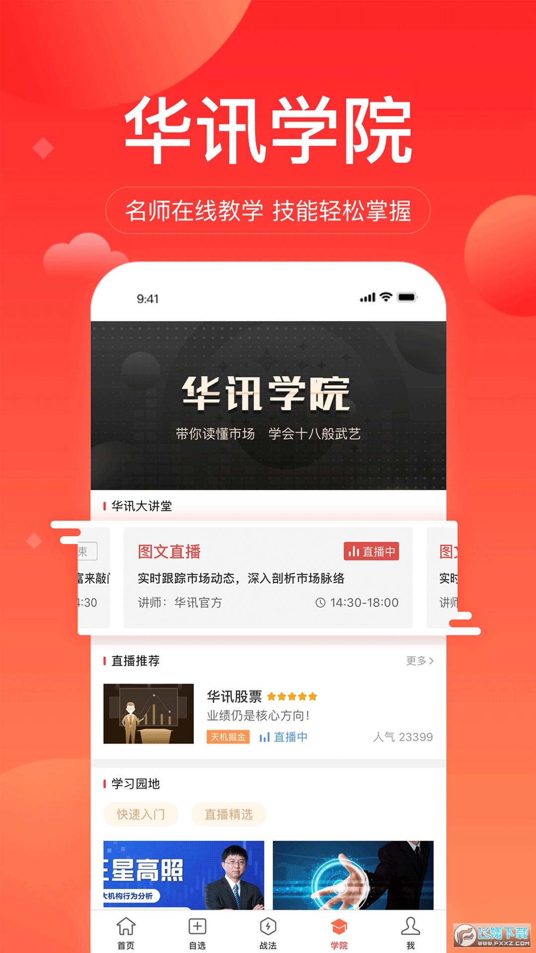 华讯股票app官方版