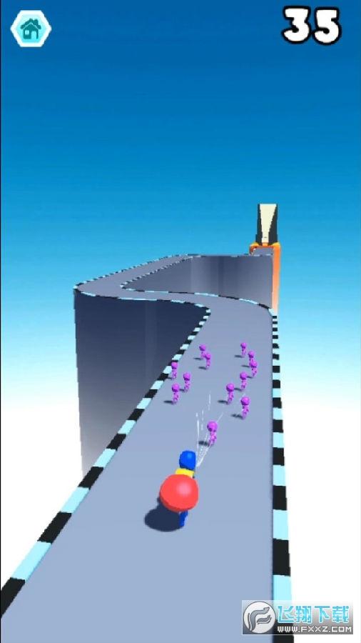 吸尘竞赛3D游戏