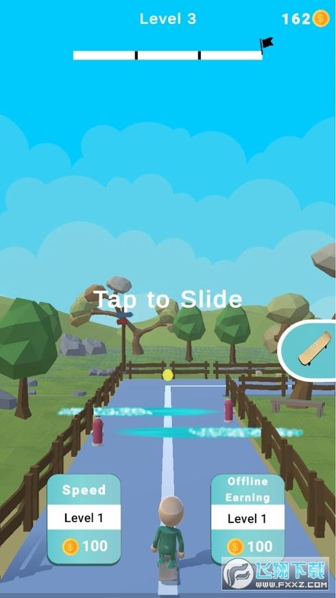 滑板乐趣手游0.9免费版截图0