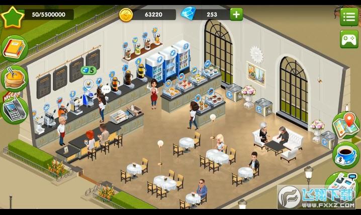 我的咖啡馆无限金币钻石破解版v2021.1.1最新版截图2