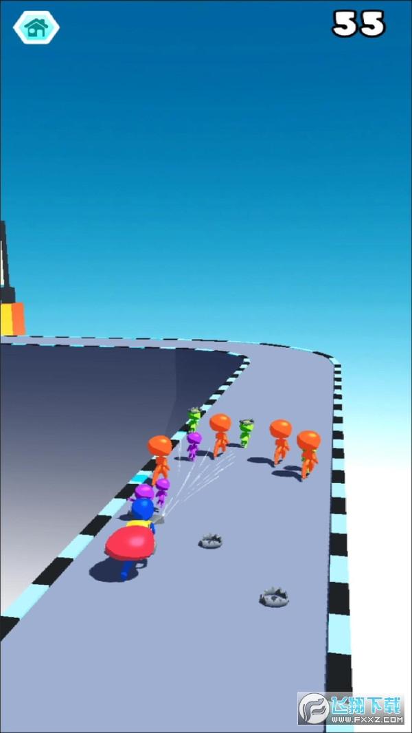 吸尘竞赛3D游戏v0.1最新版截图0