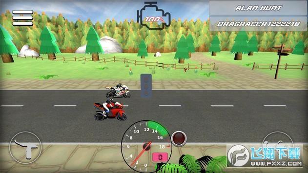 3D手指摩托车手机版