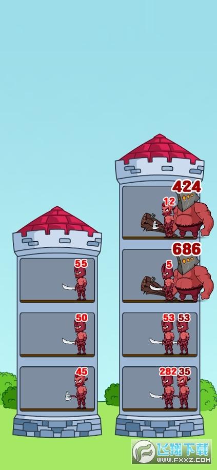 英雄城堡战争手游1.01最新版截图0