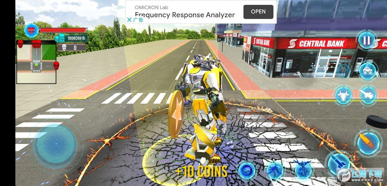 警用公牛机器人无限金币版v1.0最新版截图1
