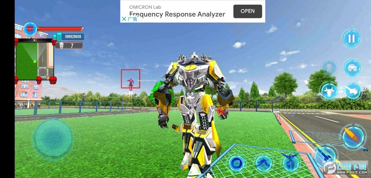 警用公牛机器人无限金币版v1.0最新版截图2